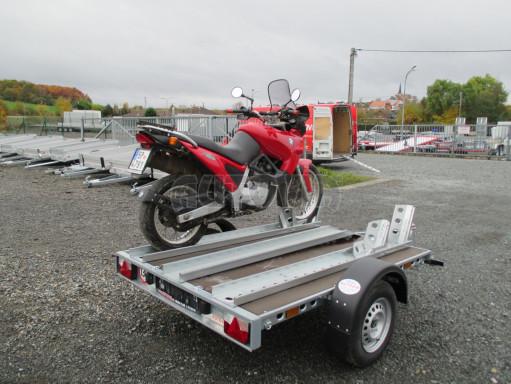 Přívěsný vozík PV 750 pro 2 motocykly 2,11x1,55 č.14