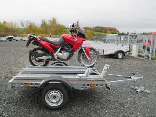 Přívěsný vozík PV 750 pro 2 motocykly 2,11x1,55 č.15