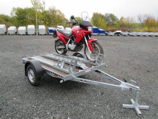 Přívěsný vozík PV 750 pro 2 motocykly 2,11x1,55 č.16