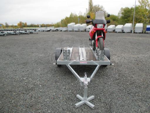 Přívěsný vozík PV 750 pro 2 motocykly 2,11x1,55 č.17