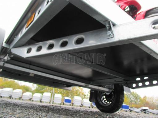Přívěsný vozík PV 750 pro 2 motocykly 2,11x1,55 č.18