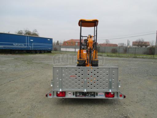 Sklopný přívěs za osobní auto PZ 1,3T 3,00x1,65 skl č.86