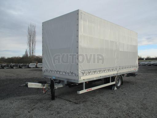 Jednonápravový 15-ti paletový vzduchem brzděný nákladní přívěs MD 10T 6,10 x 2,48/2,60 č.1