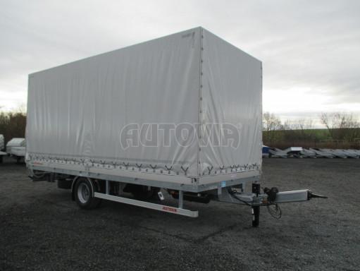 Jednonápravový 15-ti paletový vzduchem brzděný nákladní přívěs MD 10T 6,10 x 2,48/2,60 č.8