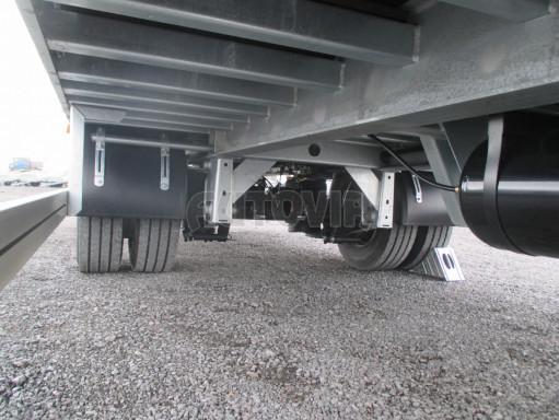 Jednonápravový 15-ti paletový vzduchem brzděný nákladní přívěs MD 10T 6,10 x 2,48/2,60 č.10