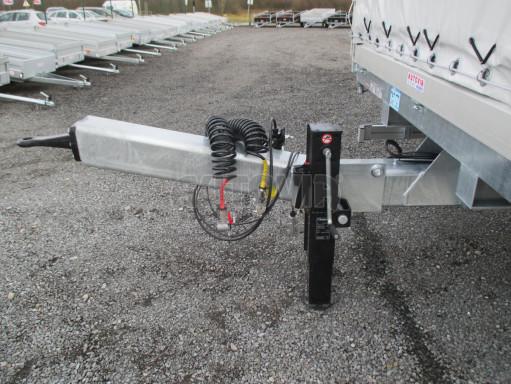 Jednonápravový 15-ti paletový vzduchem brzděný nákladní přívěs MD 10T 6,10 x 2,48/2,60 č.11