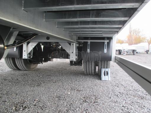 Jednonápravový 15-ti paletový vzduchem brzděný nákladní přívěs MD 10T 6,10 x 2,48/2,60 č.12