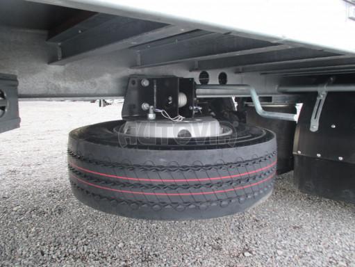 Jednonápravový 15-ti paletový vzduchem brzděný nákladní přívěs MD 10T 6,10 x 2,48/2,60 č.17