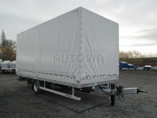 Jednonápravový 15-ti paletový vzduchem brzděný nákladní přívěs MD 10T 6,10 x 2,48/2,60 č.21
