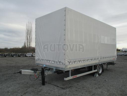 Jednonápravový 15-ti paletový vzduchem brzděný nákladní přívěs MD 10T 6,10 x 2,48/2,60 č.22