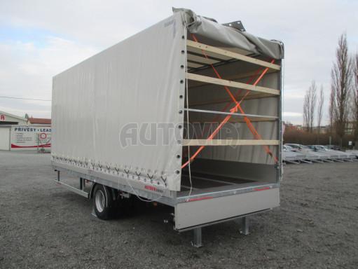 Jednonápravový 15-ti paletový vzduchem brzděný nákladní přívěs MD 10T 6,10 x 2,48/2,60 č.30