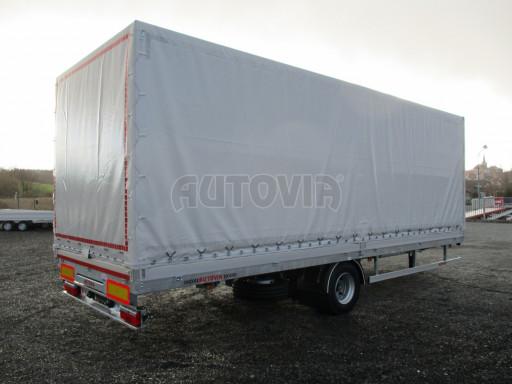 Jednonápravový 18-ti paletový vzduchem brzděný nákladní přívěs MD 10T 7,40 x 2,48/2,50 č.5