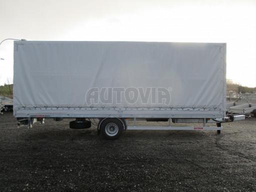 Jednonápravový 18-ti paletový vzduchem brzděný nákladní přívěs MD 10T 7,40 x 2,48/2,50 č.10