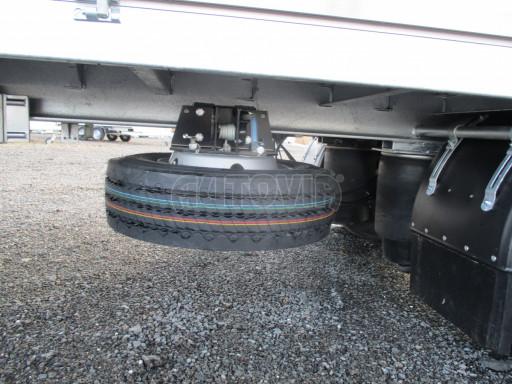 Jednonápravový 18-ti paletový vzduchem brzděný nákladní přívěs MD 10T 7,40 x 2,48/2,50 č.11