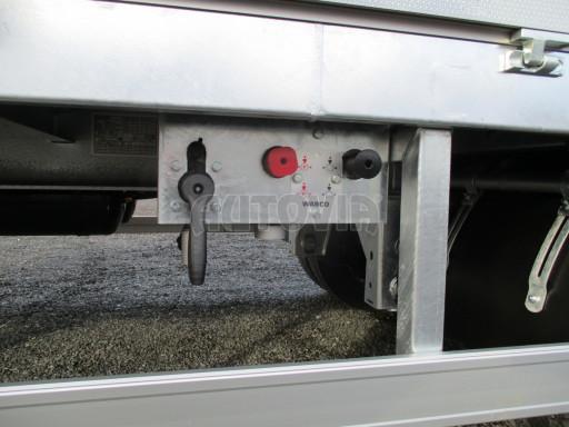 Jednonápravový 18-ti paletový vzduchem brzděný nákladní přívěs MD 10T 7,40 x 2,48/2,50 č.16