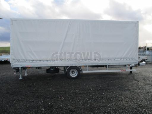 Jednonápravový 18-ti paletový vzduchem brzděný nákladní přívěs MD 10T 7,40 x 2,48/2,50 č.19
