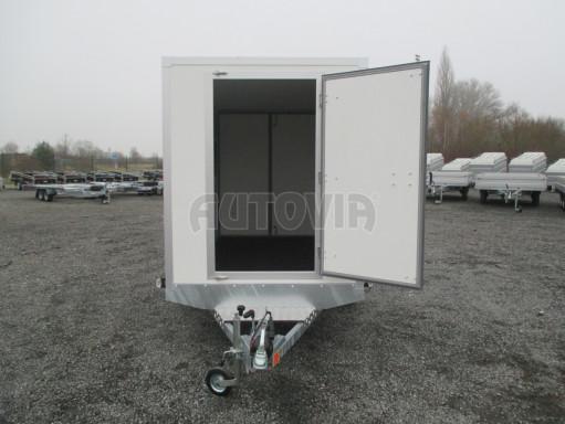 Skříňový přívěs za auto ZV 31 B1 1,3T 3,01x1,55/1,80* č.15