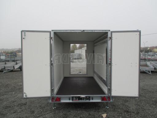 Skříňový přívěs za auto ZV 31 B1 1,3T 3,01x1,55/1,80* č.19