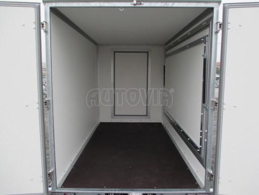 Skříňový přívěs za auto ZV 31 B1 1,3T 3,01x1,55/1,80* č.22
