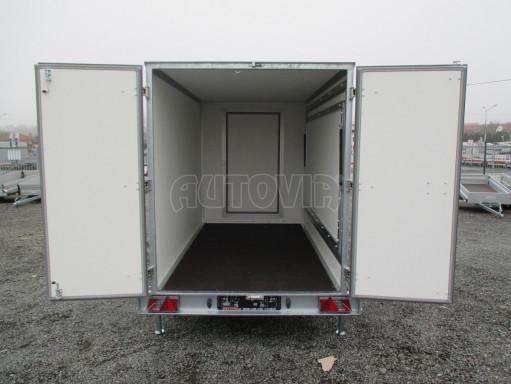 Skříňový přívěs za auto ZV 31 B1 1,3T 3,01x1,55/1,80* č.23