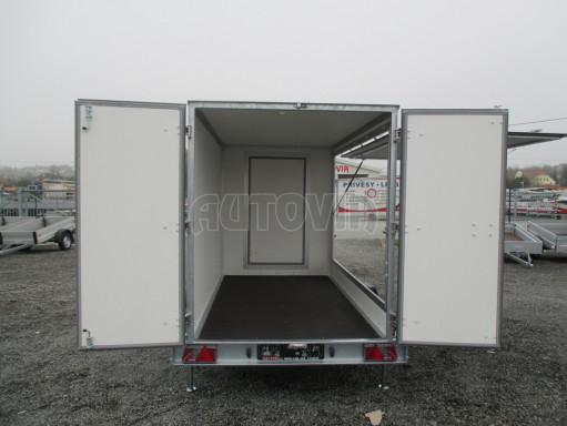Skříňový přívěs za auto ZV 31 B1 1,3T 3,01x1,55/1,80* č.25