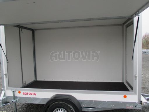Skříňový přívěs za auto ZV 31 B1 1,3T 3,01x1,55/1,80* č.31
