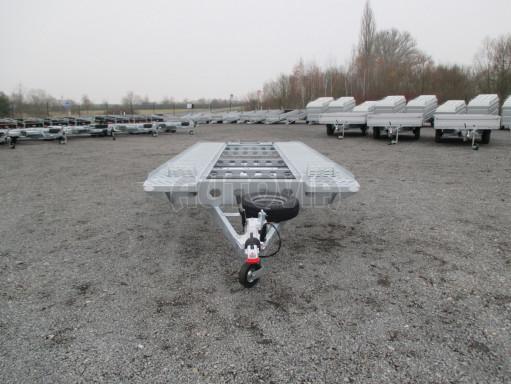 Třínápravový přepravník 2 automobilů TPAV 3,5T B3 8,00x2,20* č.7