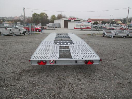 Třínápravový přepravník 2 automobilů TPAV 3,5T B3 8,00x2,20* č.8