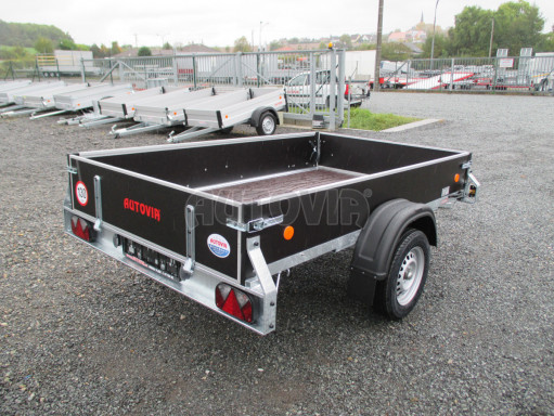 Přívěsný vozík sklopný ZV 27 N1 skl 2,50x1,48/0,35M POČ č.38