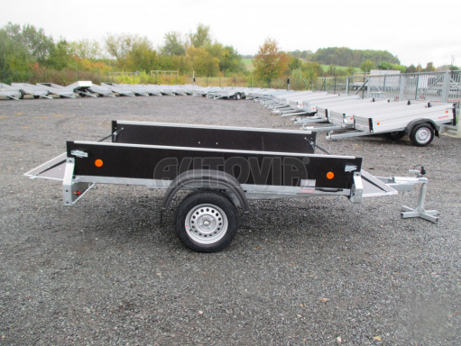 Přívěsný vozík sklopný ZV 27 N1 skl 2,50x1,48/0,35M POČ č.42