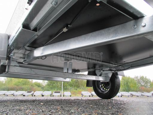 Přívěsný vozík sklopný ZV 27 N1 skl 2,50x1,48/0,35M POČ č.44