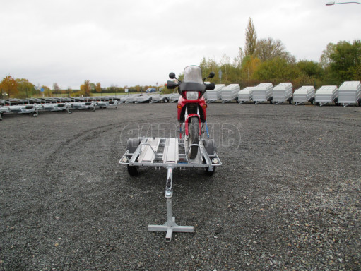 Přívěsný vozík pro přepravu motocyklů MOTO 750kg 2,06x1,09* č.2