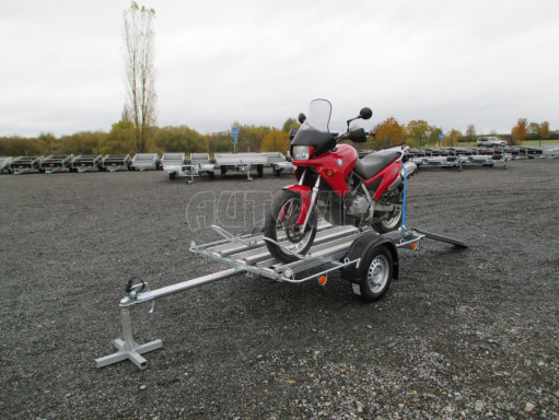 Přívěsný vozík pro přepravu motocyklů MOTO 750kg 2,06x1,09* č.3