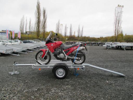 Přívěsný vozík pro přepravu motocyklů MOTO 750kg 2,06x1,09* č.4