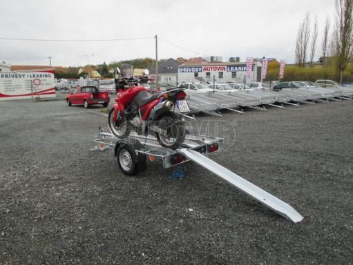 Přívěsný vozík pro přepravu motocyklů MOTO 750kg 2,06x1,09* č.5