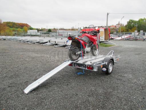 Přívěsný vozík pro přepravu motocyklů MOTO 750kg 2,06x1,09* č.7