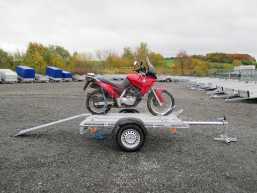 Přívěsný vozík pro přepravu motocyklů MOTO 750kg 2,06x1,09* č.8
