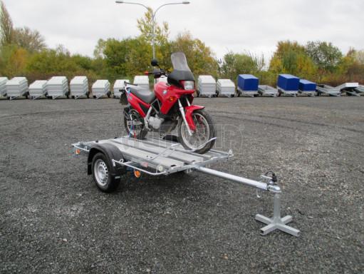 Přívěsný vozík pro přepravu motocyklů MOTO 750kg 2,06x1,09* č.9