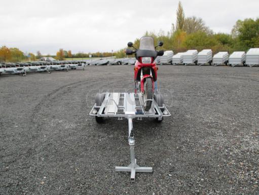 Přívěsný vozík pro přepravu motocyklů MOTO 750kg 2,06x1,09* č.10