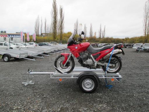 Přívěsný vozík pro přepravu motocyklů MOTO 750kg 2,06x1,09* č.11