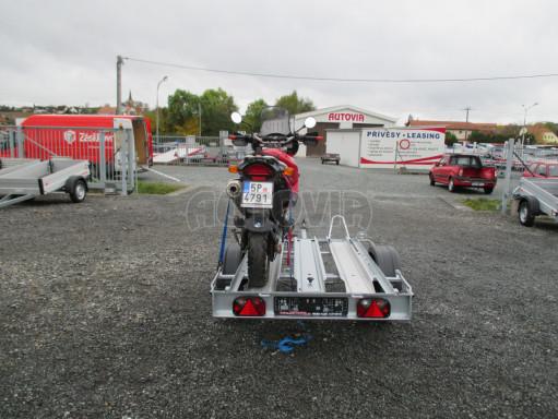 Přívěsný vozík pro přepravu motocyklů MOTO 750kg 2,06x1,09* č.13
