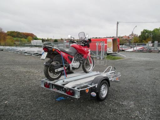 Přívěsný vozík pro přepravu motocyklů MOTO 750kg 2,06x1,09* č.14