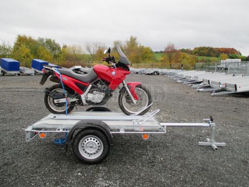 Přívěsný vozík pro přepravu motocyklů MOTO 750kg 2,06x1,09* č.15