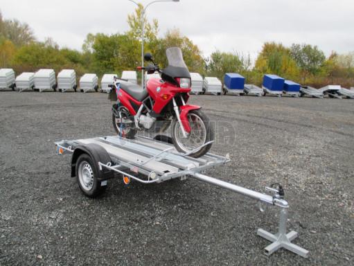 Přívěsný vozík pro přepravu motocyklů MOTO 750kg 2,06x1,09* č.16