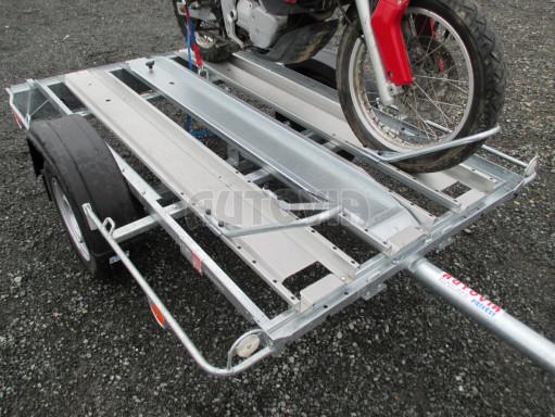 Přívěsný vozík pro přepravu motocyklů MOTO 750kg 2,06x1,09* č.17
