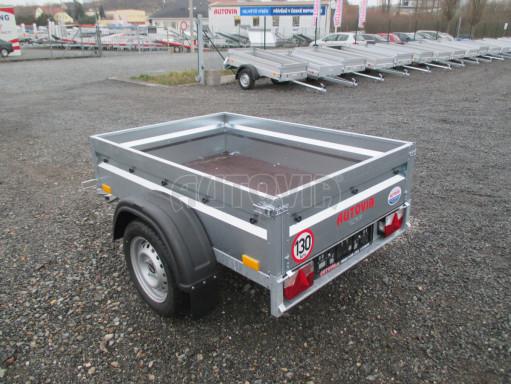 Přívěsný vozík za osobní auto PV Basic 750kg N1  1,59x1,09/0,34 č.3