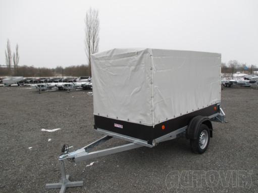 Přívěs za osobní auto s plachtou ZV 26 750kg N1 2,50x1,30/1,33 č.1