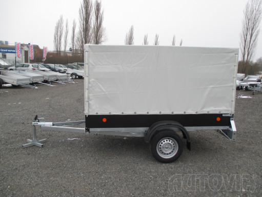 Přívěs za osobní auto s plachtou ZV 26 750kg N1 2,50x1,30/1,33 č.7