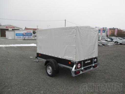 Přívěs za osobní auto s plachtou ZV 26 750kg N1 2,50x1,30/1,33 č.8