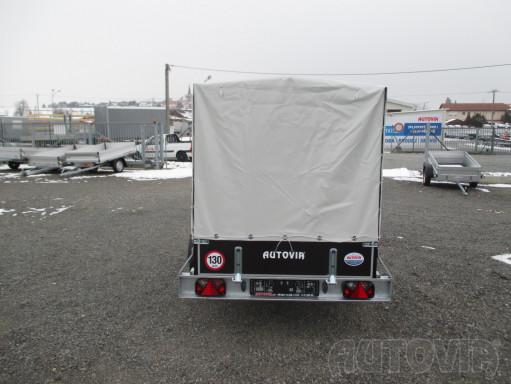 Přívěs za osobní auto s plachtou ZV 26 750kg N1 2,50x1,30/1,33 č.9